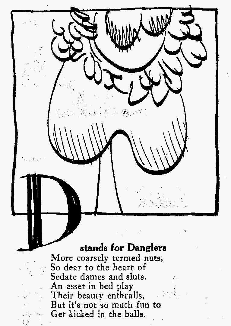 Anecdota Americana danglers