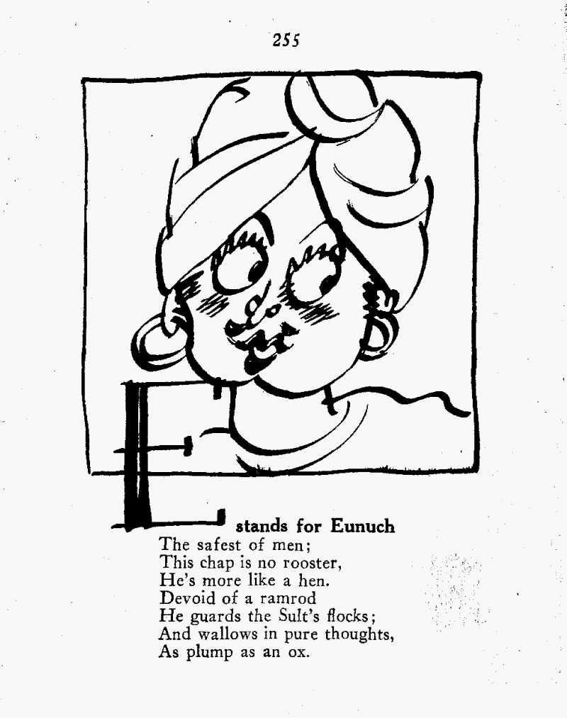 Anecdota Americana eunuch