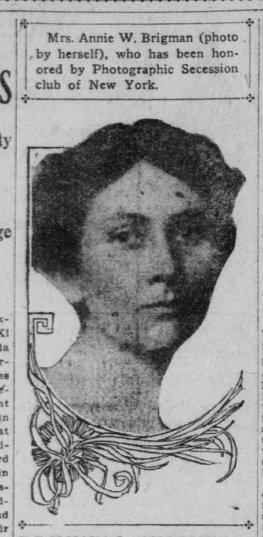 Annie Brigman, 1908
