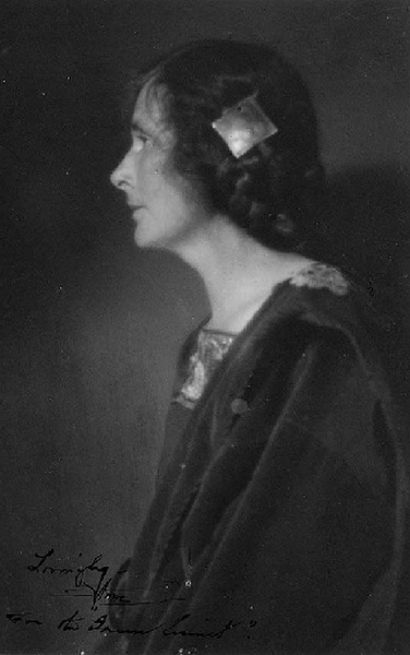 Annie Brigman Self-portrait