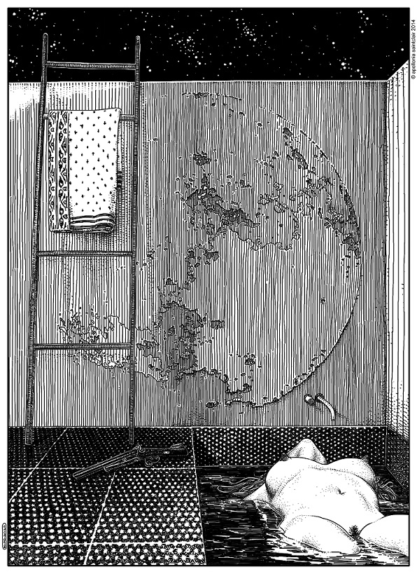 Apollonia Saintclair Don't forget your silver bullets after midnight)