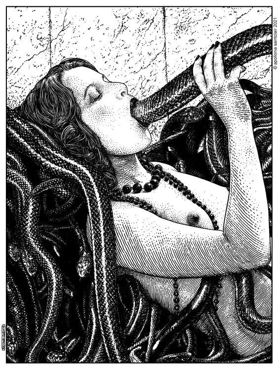 Apollonia Saintclair Dreaming of Snakes