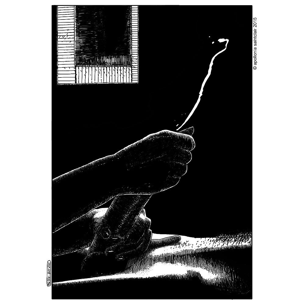 Apollonia Saintclair ejaculation