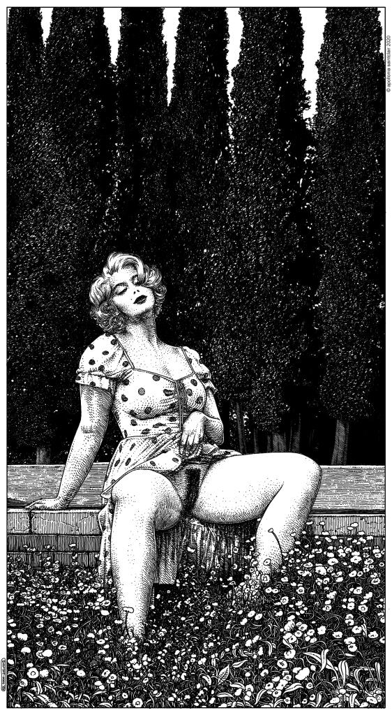 Apollonia Saintclair female exhibitionist