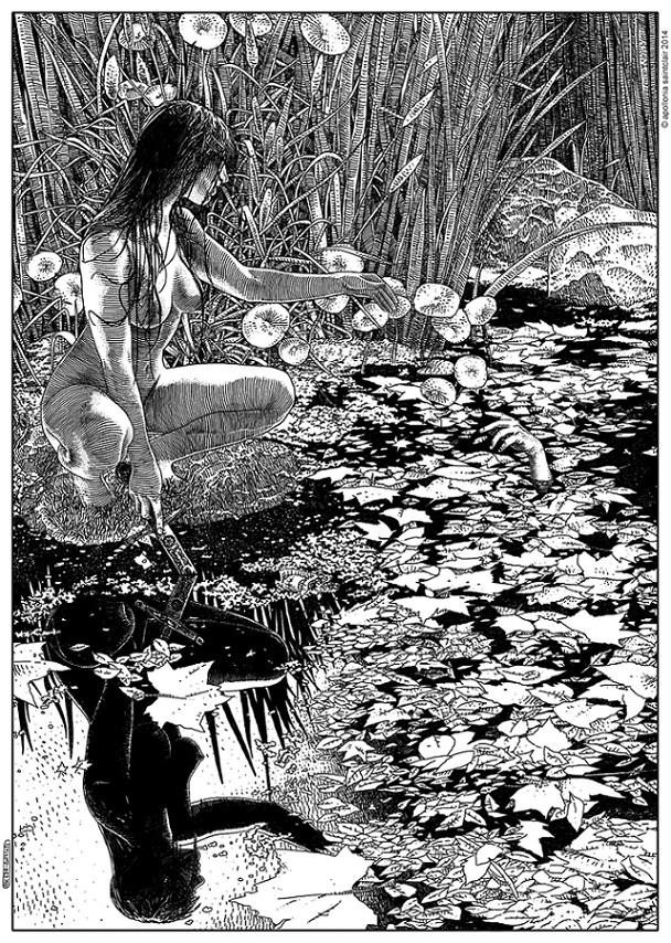 Apollonia Saintclair La Dame du lac (Viviane)