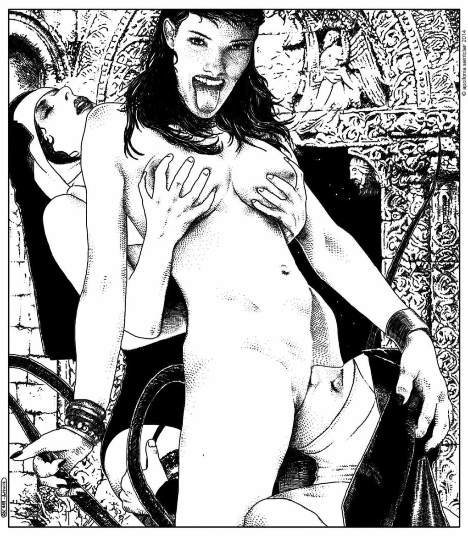 Apollonia Saintclair lesbian nuns
