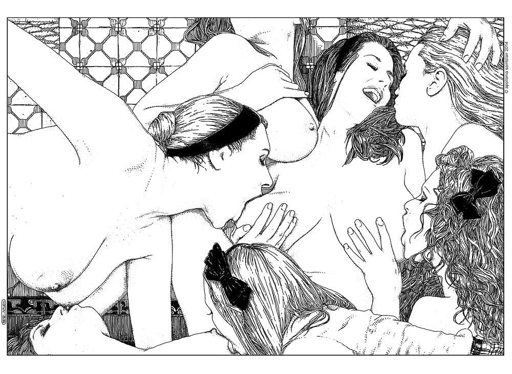 Apollonia Saintclair lesbians