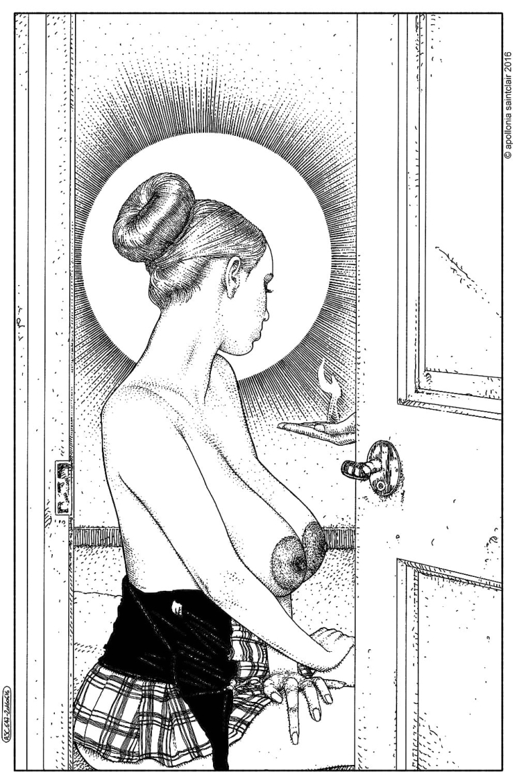 Apollonia Saintclair nude breasts