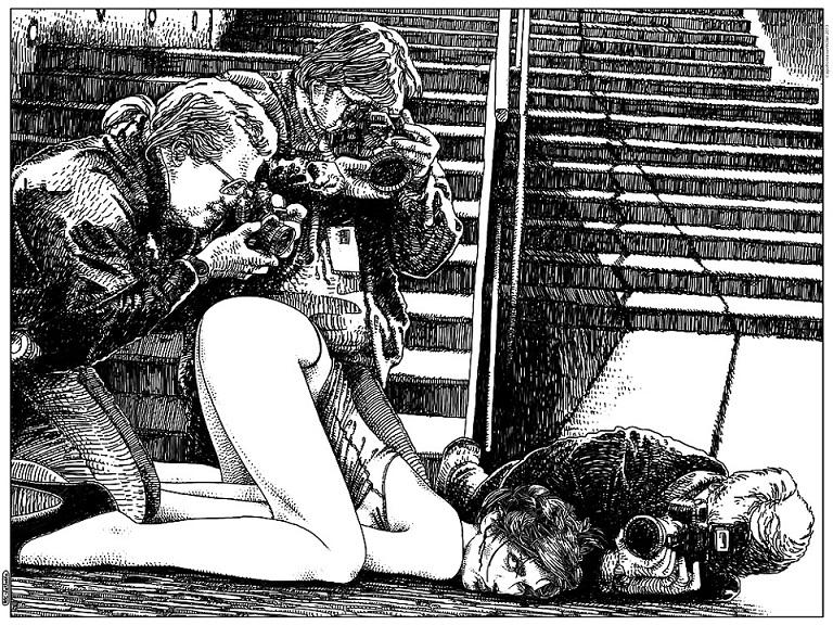 Apollonia Saintclair nude corpse photographers
