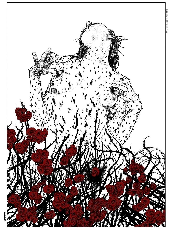 Apollonia Saintclair prickly