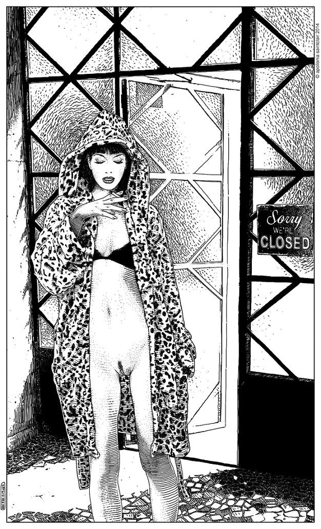 Apollonia Saintclair seductive female