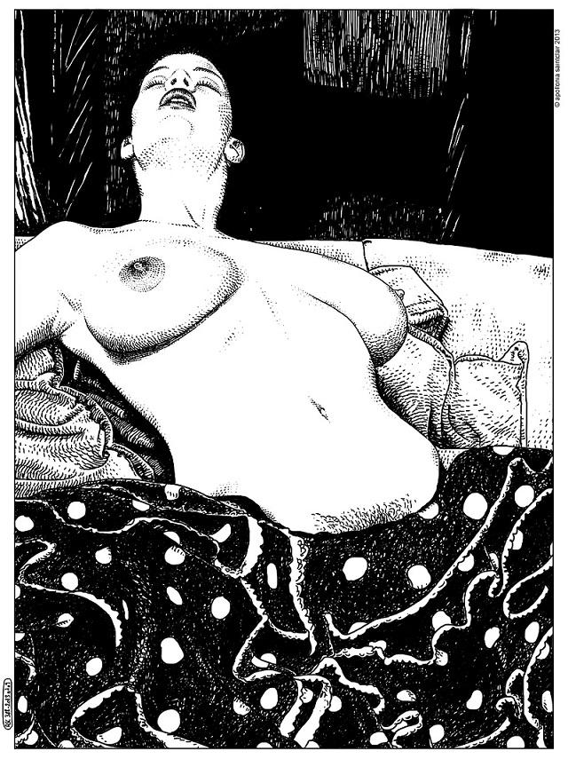 Apollonia Saintclair semi nude