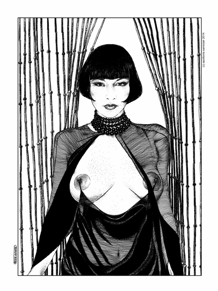 Apollonia Saintclair sensuality