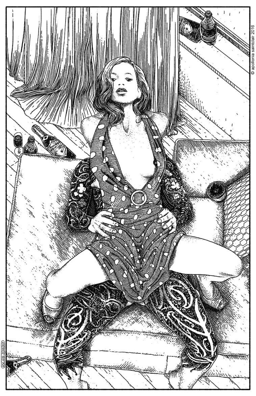 Apollonia Saintclair tattooed lover
