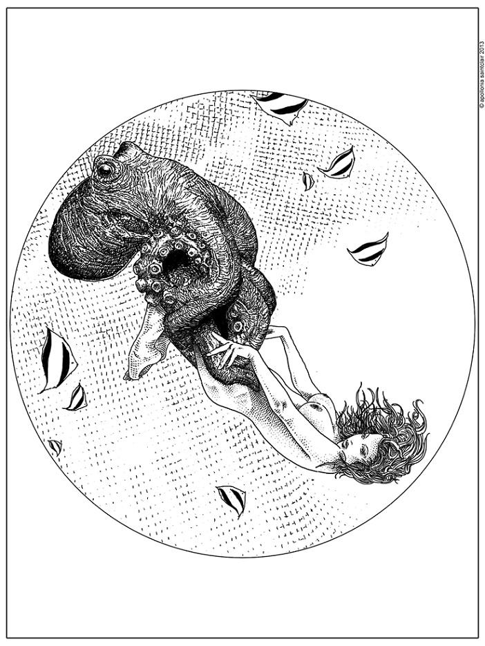 Apollonia Saintclair tentacle art