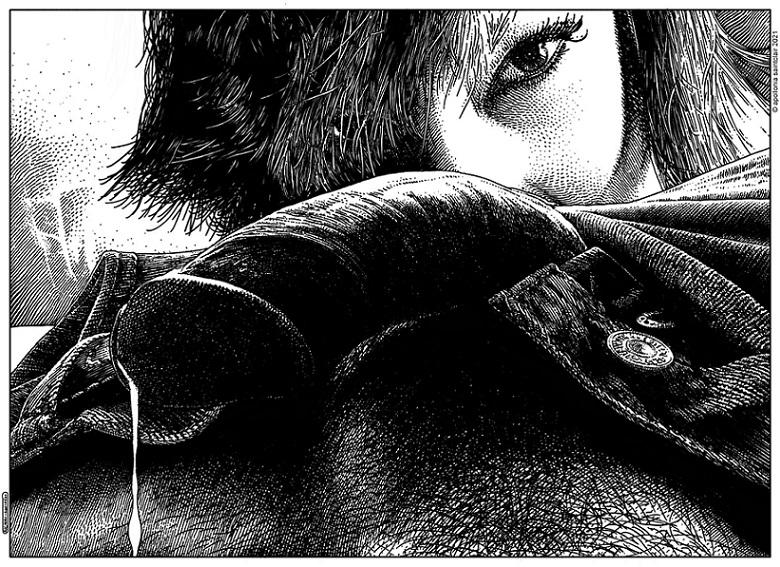 Apollonia Saintclair The predator's gaze