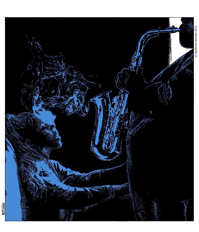 Apollonia Saintclair trumpet jazz