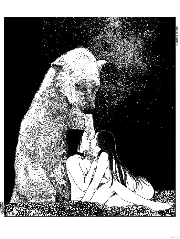 Apollonia Saintclaire polar bear