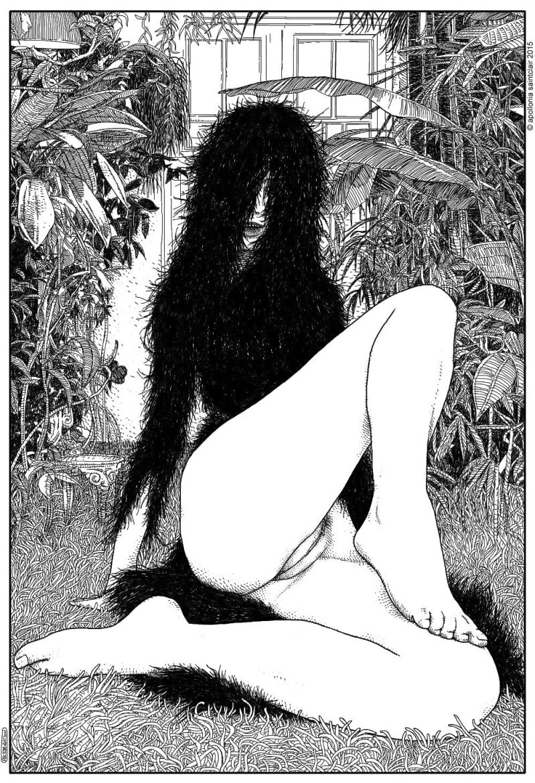 Apollonia Saintclaire wild hair