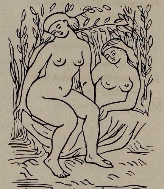 aristide maillol Two reclining women