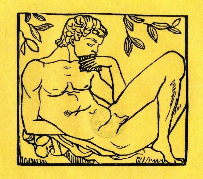 aristide maillol Young man playing the panpipes