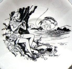 arthur ferrier Fisherwoman