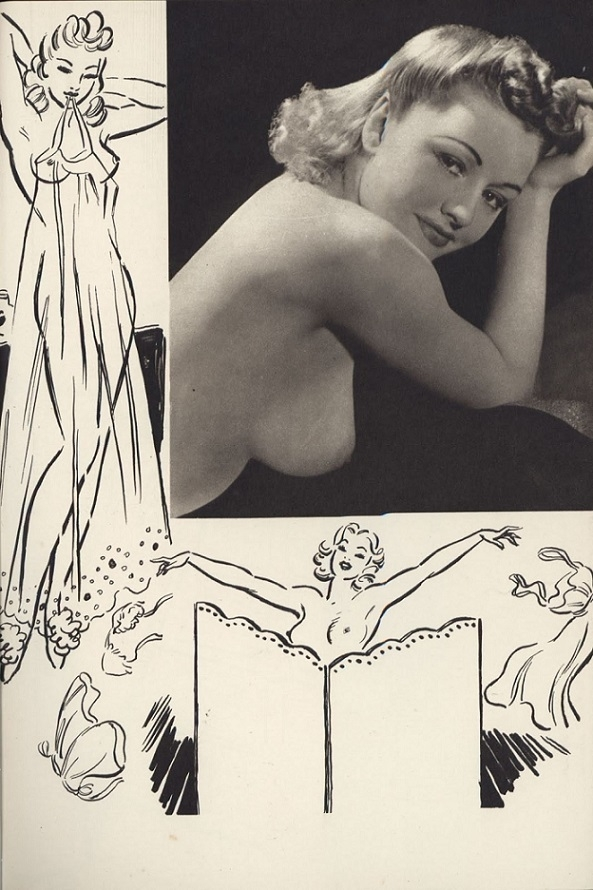 Arthur Ferrier Horace Roye nude pin up
