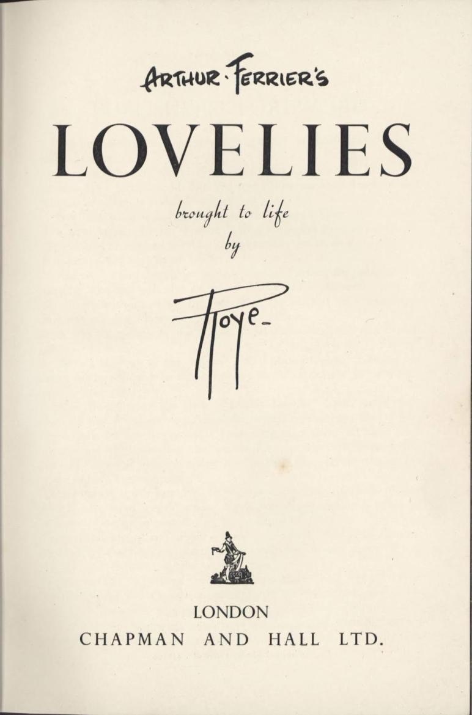 arthur ferrier Lovelies cover
