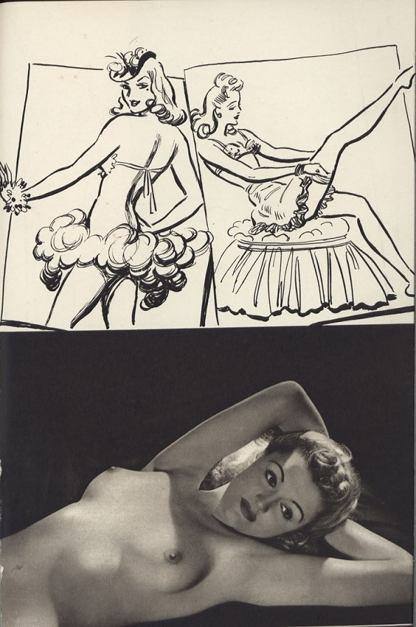 Arthur Ferrier/Roye, nude