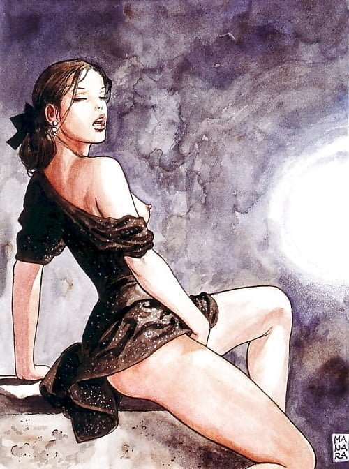 artwork for click milo manara