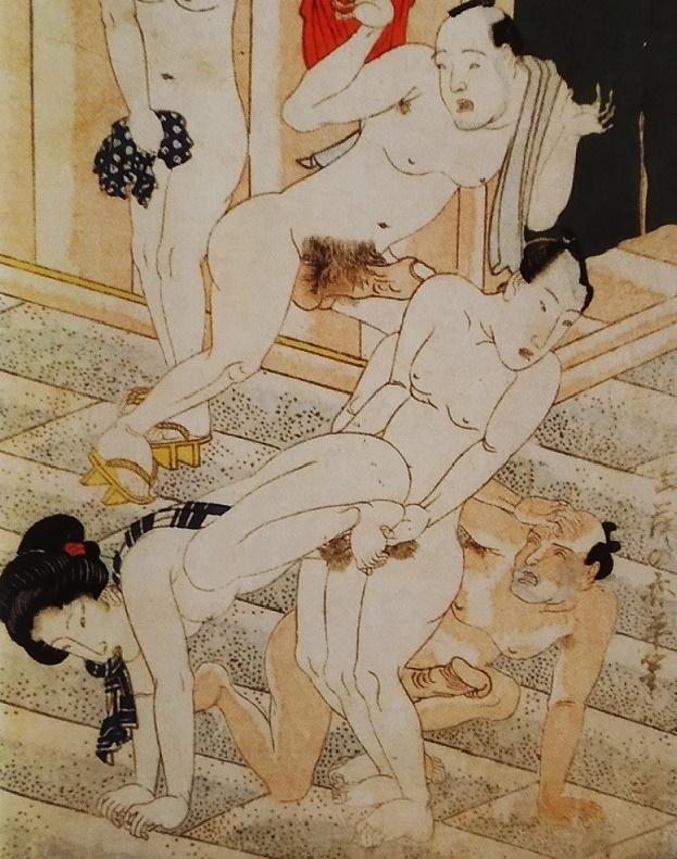 bathhouse shunga kunisada