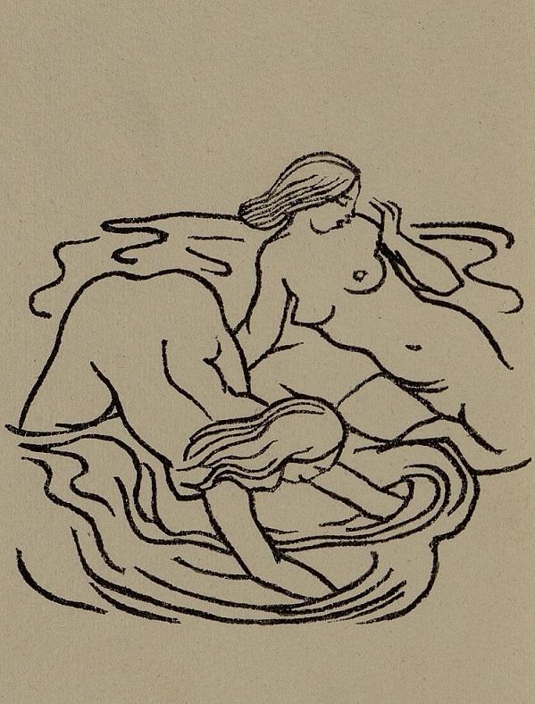 Bathing women Horace Maillol
