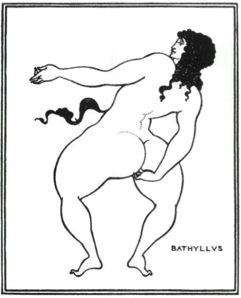 "Bathyllus Taking the Pose, ""Lysistrata"