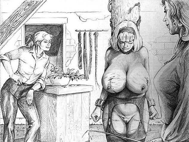 bdsm art joseph farrel mistress
