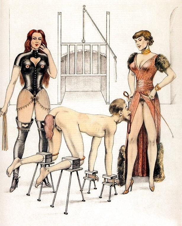 bdsm art mistresses and slave