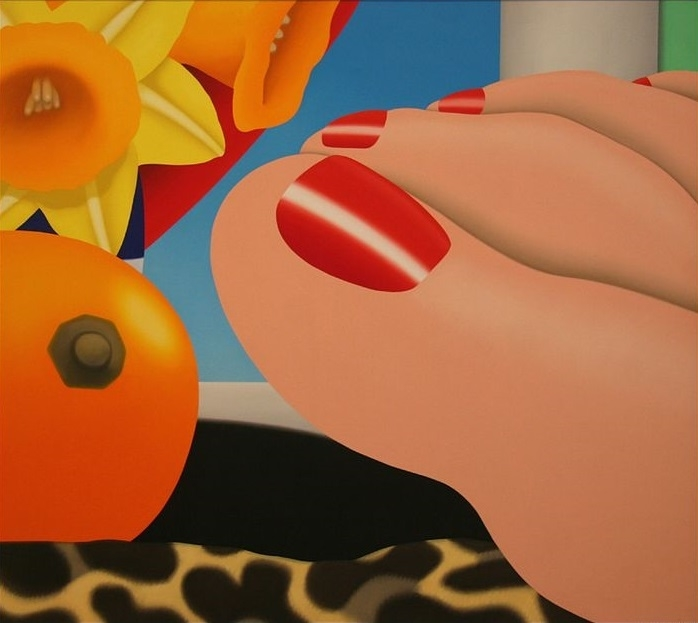 bedroom painting Tom Wesselmann
