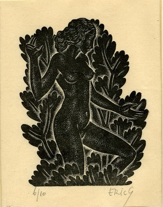 Belle sauvage III by Eric Gill