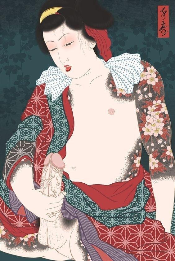 Benten Kozo kabuki