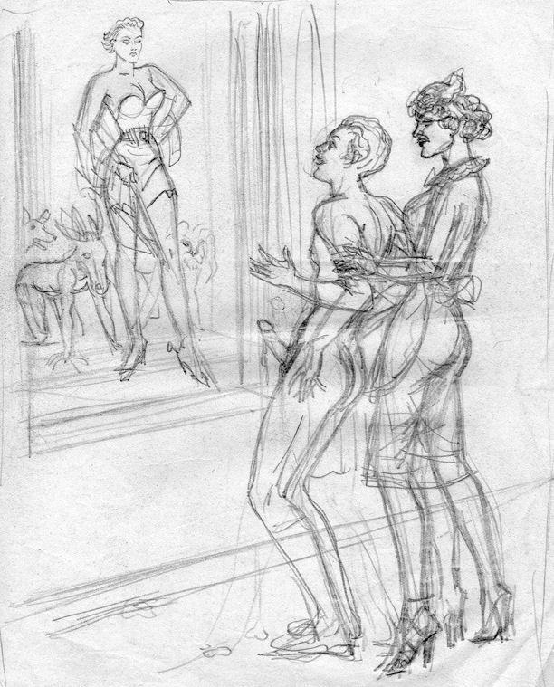 Bernard Montergueill sketch