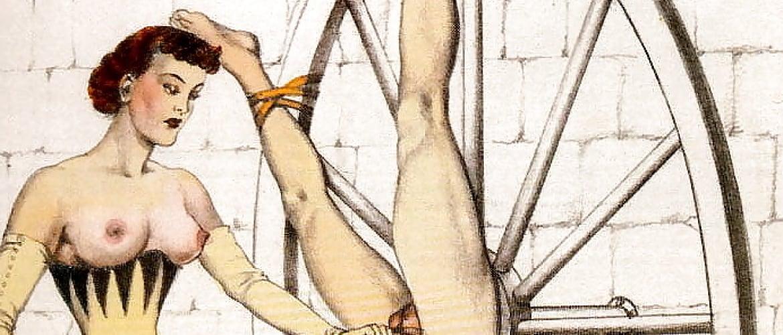 The Graceful Mistresses of the French BDSM Artist Bernard Montorgueil