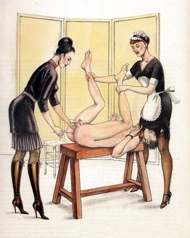 Bernard Montergueill bondage art