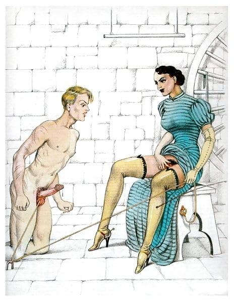 Bernard Montergueill seductive mistress