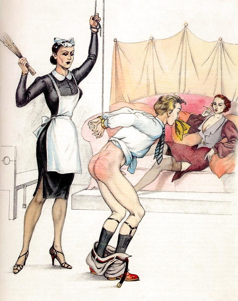 Bernard Montergueill spanking