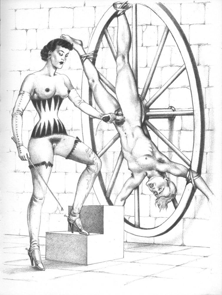 Bernard Montergueill torture wheel