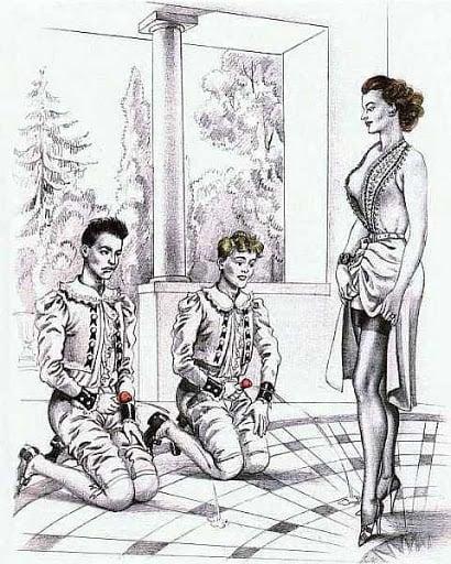 Bernard Montorgueil dominant woman