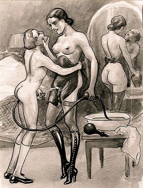 Bernard Montorgueil femdom artist