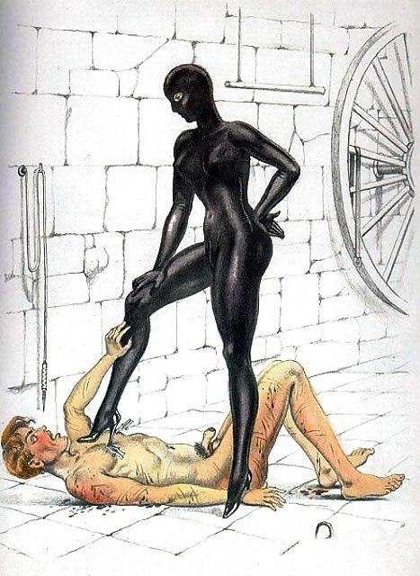 Bernard Montorgueil Masked Mistress