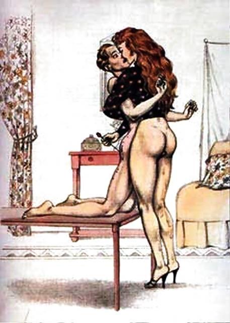 Bernard Montorgueil red-haired Mistress