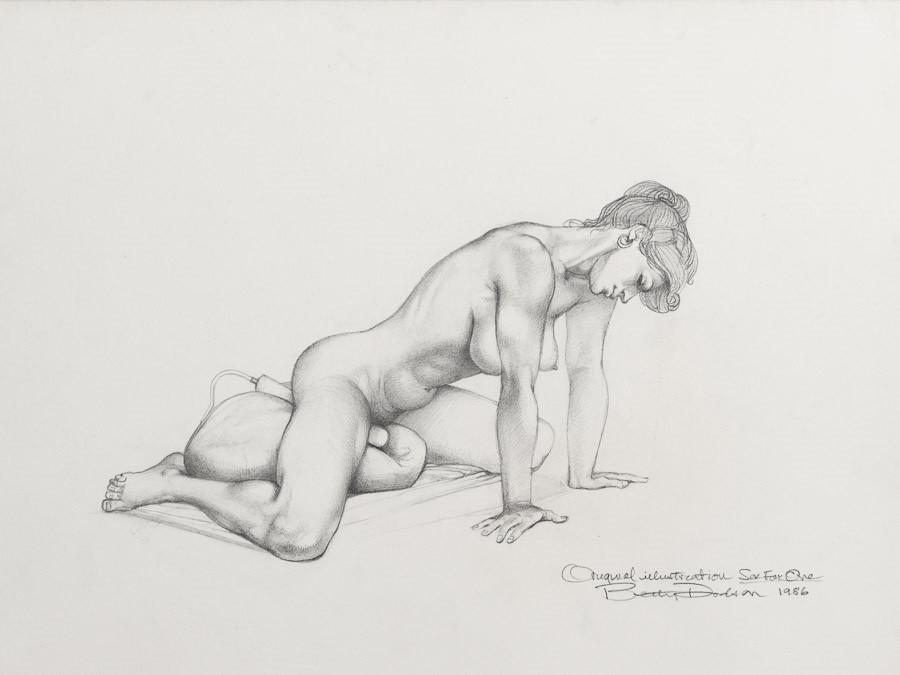 Betty Dodson masturbating female