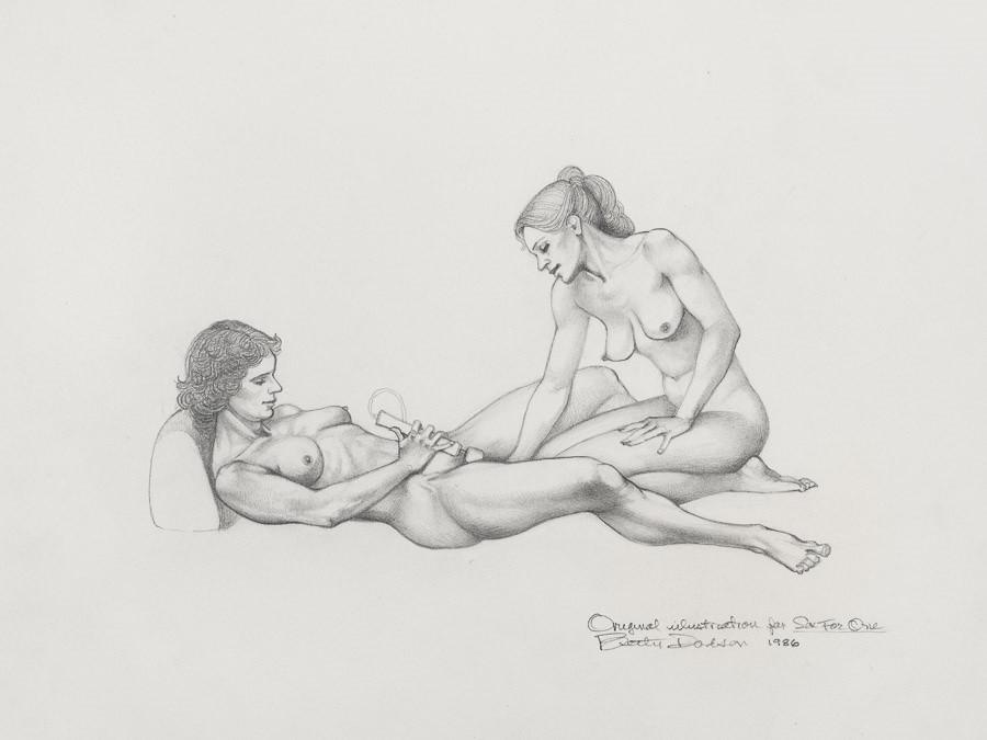 Betty Dodson lesbian art